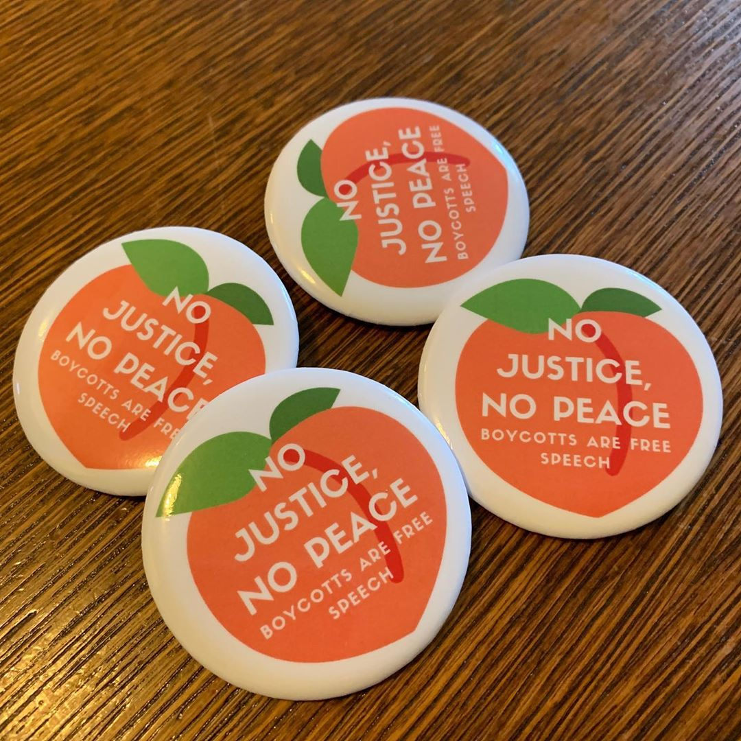 Get one of these limited run buttons and support free speech in our community!